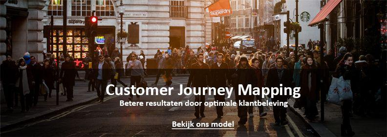 Voorbeeld Customer journey Map